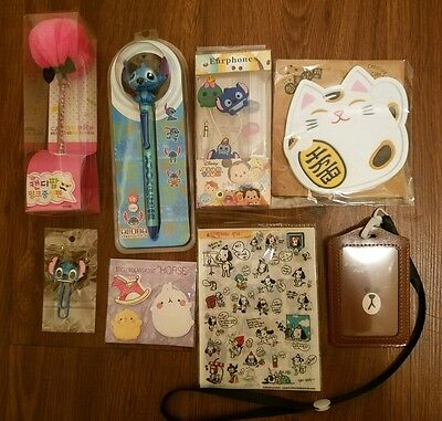 Kawaii MIXED LOT From Japan Stitch Tsum Tusm, Molang
