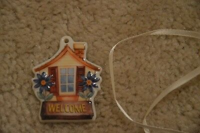 "NEW in Box - Longaberger ""Welcome"" House Tie-On # 23087"