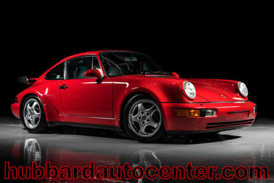 1991 Porsche 911 Extensive ownership documentation, Great history, 1991 Porsche 911 Turbo only 26,000 miles Extensive ownership and service history