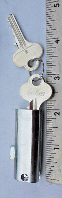 "(1)  new  2"" File Cabinet Lock  with 2 same Keys"