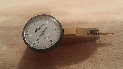 """.030"""" x 0.0005"""" TIN COATED DIAL TEST INDICATOR 7 JEWELS WITH CASE """"THE AVENGER"""""""