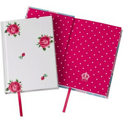 Royal Albert Casebound New Country Rose Notebook A6