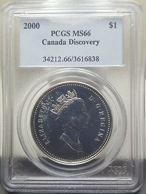 Silver 2000 Canada Dollar | PCGS MS66 (SP66)