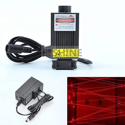650nm 660nm 250mw Red Dot Laser Diode Module w 12V Adapter Room Escape
