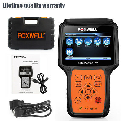 Foxwell Nt644 All Systems Universal Diagnostic Scan Tool Abs Srs Airbag Scanner