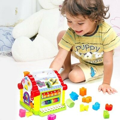 TOYK Kids toys Musical Colorful Baby Fun House, Learning Educational Gift toy
