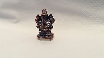 Small Metal Ganesh show Piece For Car Dash Board Home Temple