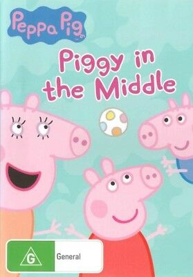 Peppa Pig: Piggy in the Middle [Region 4] - DVD - New - Free Shipping.