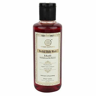 Khadi Sandal and Honey Body Wash 210ML