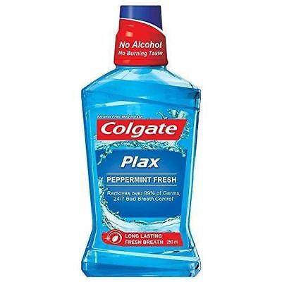 Colgate Long lasting Fresh Breath Plax Peppermint Mouthwash