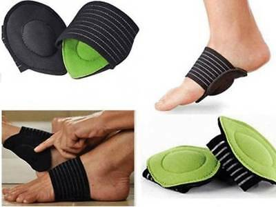 1 Pair Planter Fasciitis Foot Arch Pads Foot Care Comfort Supports One Size.