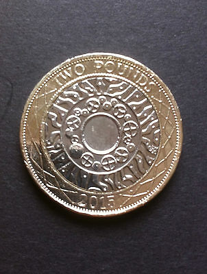 £2 coin 1997 - 2015  Two Pound STANDING ON THE SHOULDERS OF GIANTS Technology