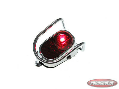 Rücklicht LED Classic chrom Puch Maxi MV VS taillight rear chrome universal