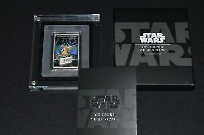 STAR WARS -THE EMPIRE STRIKES BACK/ POSTER - 2017 1oz Silver (Sold Out At Mint)