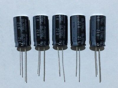 2700Uf 16V 105C Electrolytic Capacitors Pack Of 5