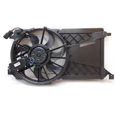 New Radiator and Condenser Cooling Fan Assembly fits 2004-2009 Mazda 3 2.0L-2.3L