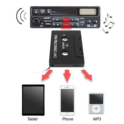 Adapter Transmitters 3.5mm AUX Car Audio Cassette Tape for iPhone MP3 IPod CD MD