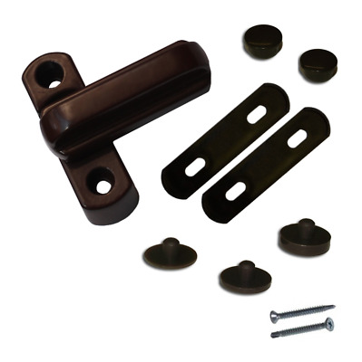 Upvc Window and Door Sash Jammer - Brown