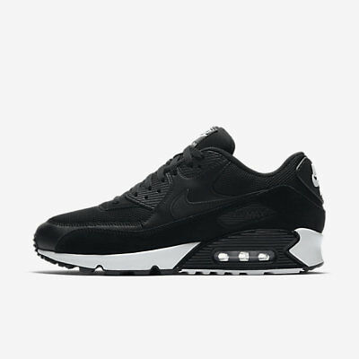 Nike Air Max 90 Essential Black 537384-077 Bianca Sneakers Uomo Donna Shoes