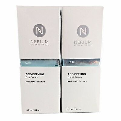 Nerium AD Age Defying Night and Day Facial Cream Complete Kit - Special Price!