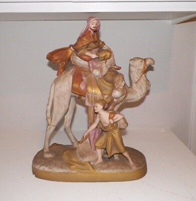 Vintage Large Royal Dux Bedouin On Camel Figurine 18""