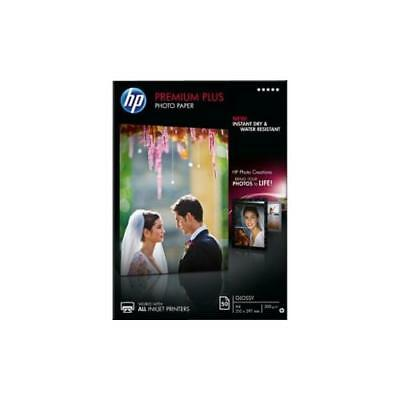HP Premium Plus (A4) 300g/m2 Glossy Photo Paper (White) 1 Pack of 50 Sheets