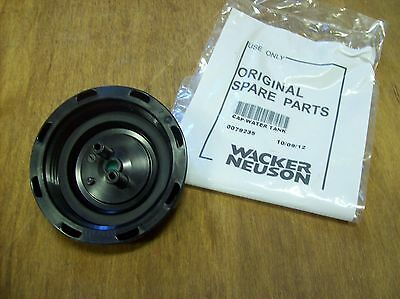 Wacker WP1550 / WP1540 plate compactor tamper water tank cap -part # 0079235