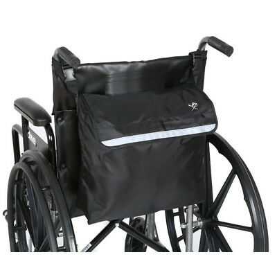 Wheel Chair Back Pack Bag Mobility Scooter Walker Rollator Storage Organizer New
