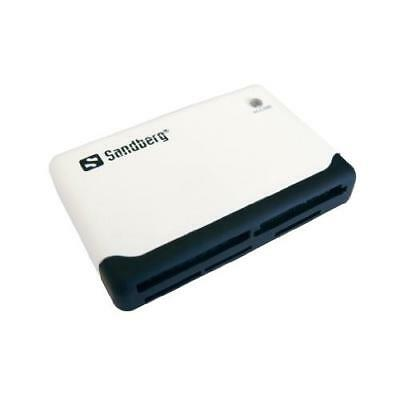 Sandberg 133-46 External Multi Card Reader Usb Powered Black & White