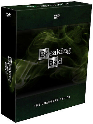 Breaking Bad The Complete Series Season 1 2 3 4 5 6 (DVD 2017 21-Disc Box Set)