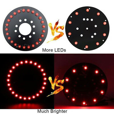 """For 07-17 Jeep Wrangler JK 12.5"""" Replacement Tire Car 25 LED 3rd Brake Light Red"""