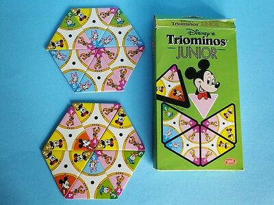 altes Goliath Spiel Disney Triominos Junior Legespiel