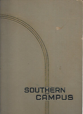 HS808 CA 1934 University of California at Los Angeles 'Southern Campus' Yearbook