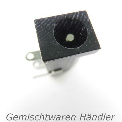 DC-005 2,1 x 5,5 mm Black Recessed Hollow Socket E.G. for 5V 12V 24V