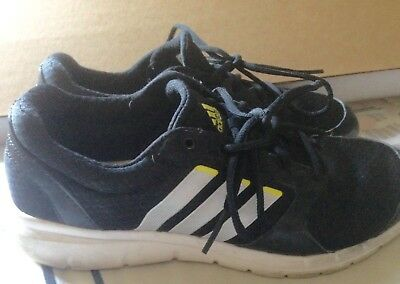 ADIDAS Athletic shoes for women Size 8.5 Black # 10574210
