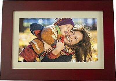 "Insignia - 10"" Widescreen LCD Digital Photo Frame - Espresso"