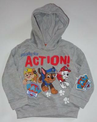 PAW PATROL Toddler Boys 2T 3T 4T Sweatshirt HOODIE Coat Jacket Marshall Chase