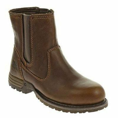 CAT  Freedom Womens Pull-On Steel Toe Work Boot CAT-P90388 EH