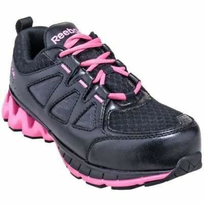 Reebok Womens Composite Safety Toe Athletic RB330BLK  EH