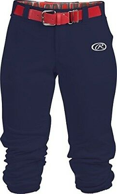 (Large, Navy) - Rawlings Sporting Goods Girls Launch Pant. Brand New