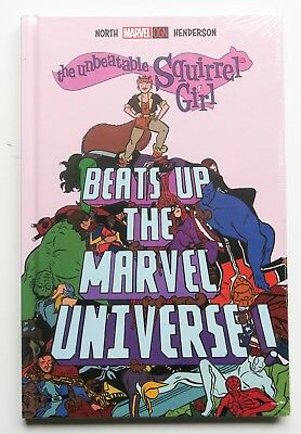 The Unbeatable Squirrel Girl Beats Up the Marvel Universe NEW OGN Hardcover Book