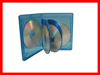 3 Pk VIVA ELITE Blu-Ray Replace Case Hold 6 Discs (6 Tray) 15mm Storage Holder
