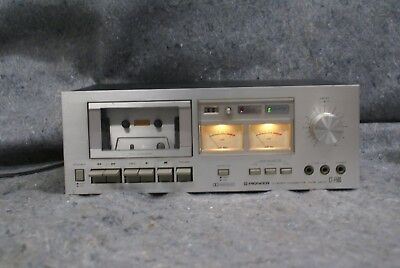 Pioneer CT-F500 Vintage Cassette Deck - Fully Tested - WORKS - Original Manual