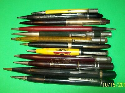 Large Lot of Vintage Mechanical Pencils Autopoint Red Point Eversharp Alexander
