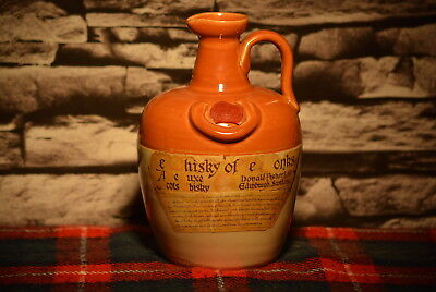 Ye Whisky Of The Monks A Deluxe Scots Whisky Scotch Whisky Decanter Leer  #c0002