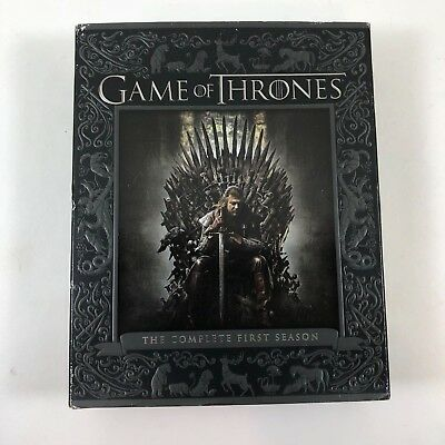 Game of Thrones The Complete First Season Blu-Ray BluRay Disc 2016 5-Disc Set