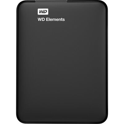 WD Elements  USB 3.0 Portable Hard Drive - Black - Choice of Storage Capacity