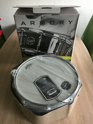 """Mapex - Armory Snare """"Tomahawk"""", 14""""x5,5"""", Black Plating"""