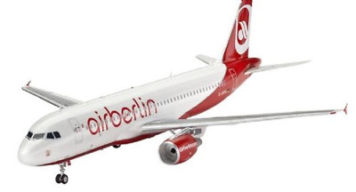 Revell Modellbausatz Flugzeug 1:144 - Airbus A320 AirBerlin im Maßstab 1:144, Le