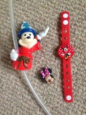 Mickey Fantasia Minnie Mouse Disney Crocs Jibbitz From USA, More Stocking Filler